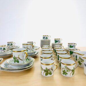 Hackefors, Kaffeservis, Vinranka, Anemone Hepatica, 64-delar