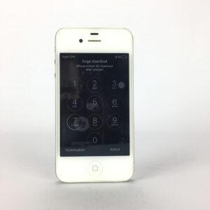 Apple iPhone 4S, A1387, vit Defekt