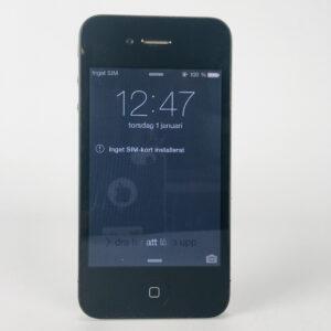 Apple iPhone 4, A1332, svart Defekt