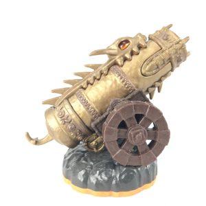 Skylanders Rare Item Golden Dragonfire Cannon (Skylander Giants)